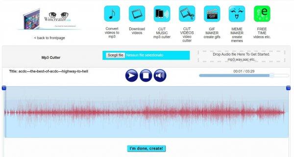 Tagliare una canzone online 4