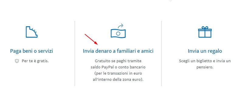 Come inviare denaro tramite Paypal