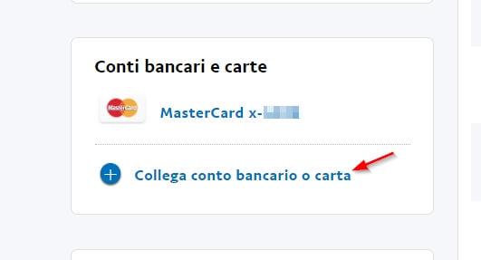 Come ricaricare PayPal da carta di credito/prepagata