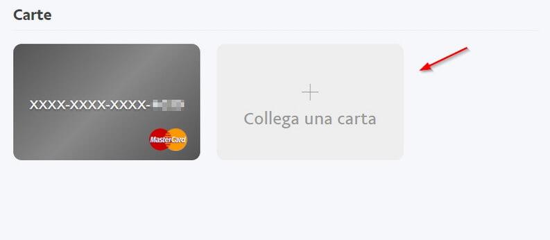 Come collegare una carta di credito a Paypal