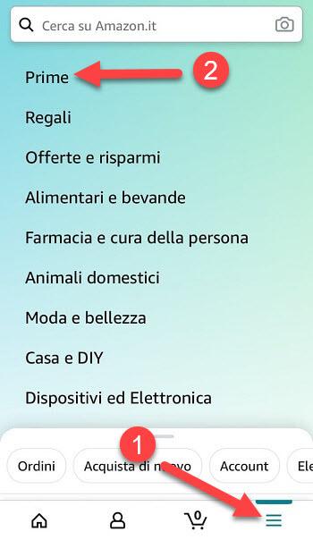 Iscrizione Prime Con Smartphone