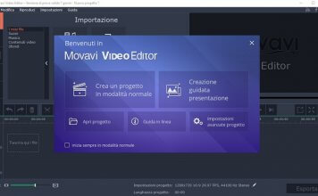 Modificare video con Movavi Video Editor