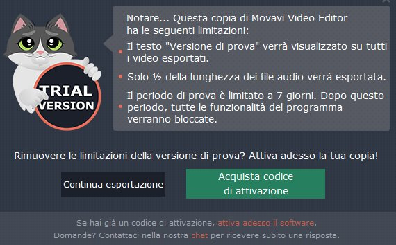 Movavi Video Editor Gatto