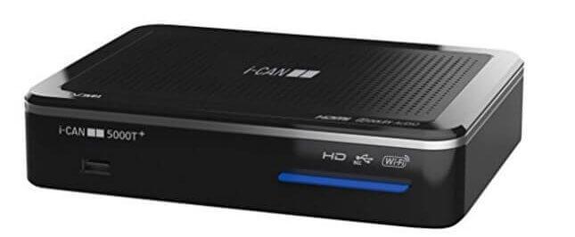 Decoder DVB-T i-can ADB 5000T+