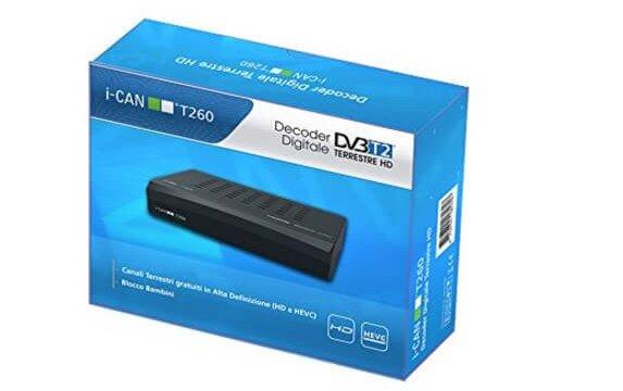 Decoder DVB-T2 ADB T260