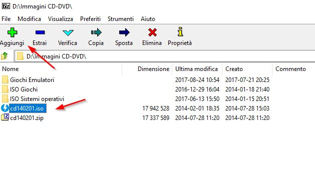 7-zip compressione file