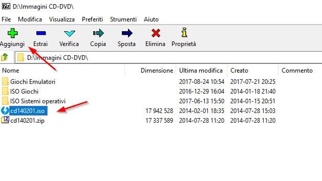 7-zip compressione file