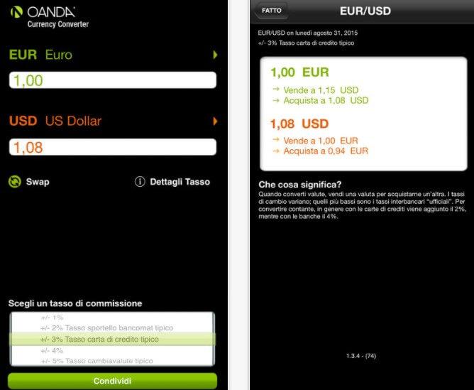 Applicazione Convertitore di valute