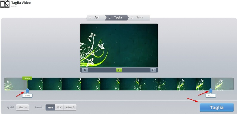 elaborare flusso video