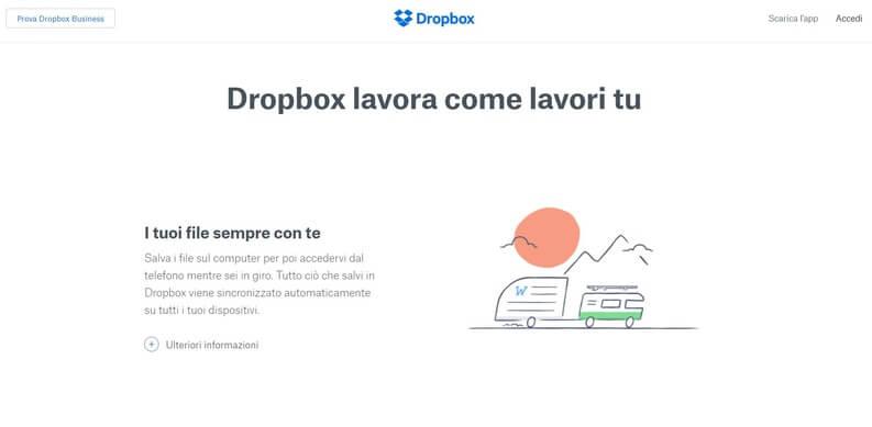 dropbox su tutti i device
