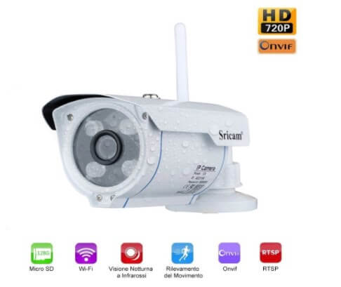 telecamera HD