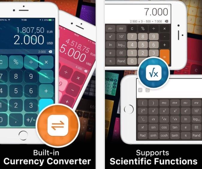 calcolatrice avanzata per iphone
