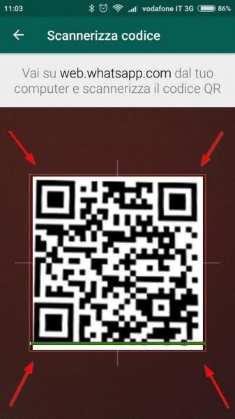 scannerizza codice qr