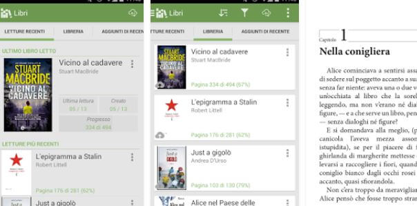 Le migliori app eBook Reader Android