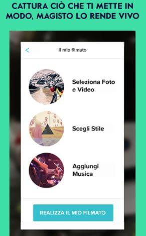 creare video gratis android
