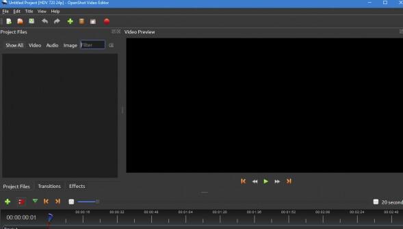 openshot editor per youtube