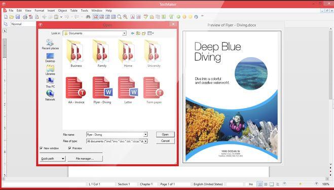 TEXTMAKER (Windows, Mac, Linux, Android)