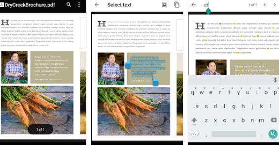 visualizzare PDF su device Android