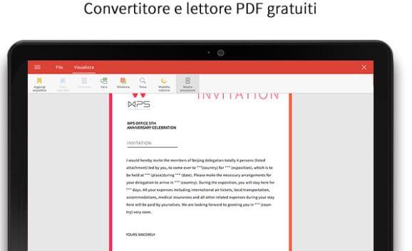 convertitore e lettore PDF per Android