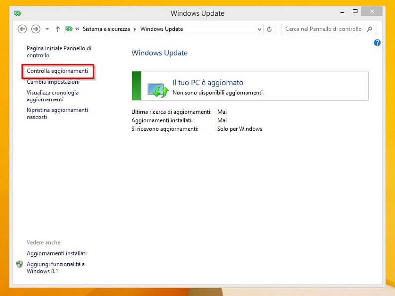 pc con windows update