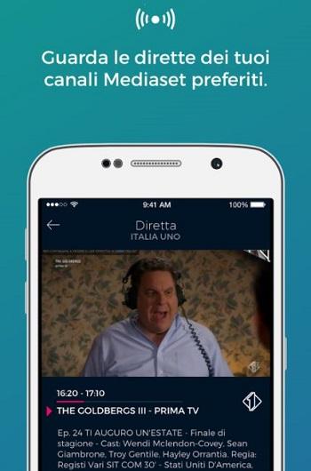 app Mediaset On Demand