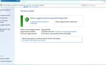 Come aggiornare il PC e controllare aggiornamenti Windows