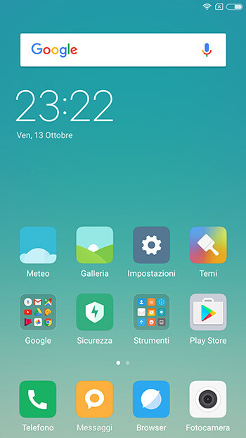 interfaccia miui