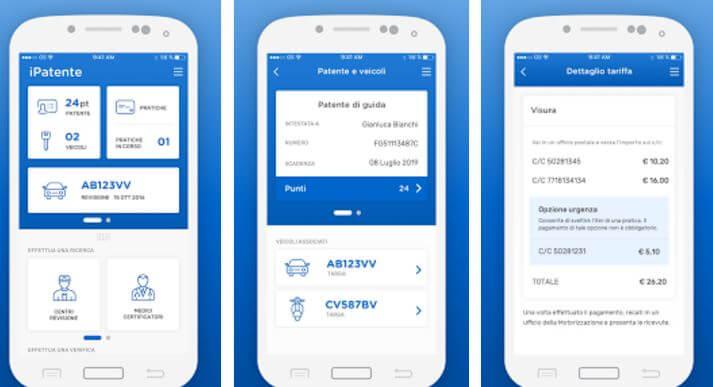 punti patente app ufficiale