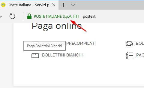 verificare se un sito è sicuro