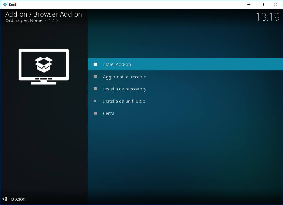 add-on Kodi