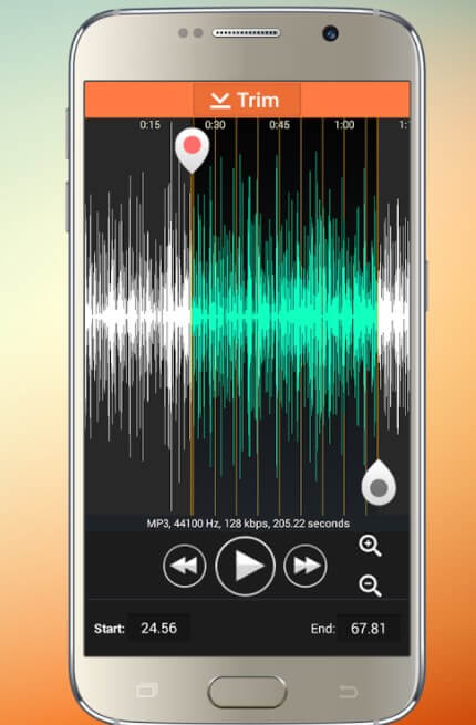 Audio MP3 Cutter Mix Converter Android