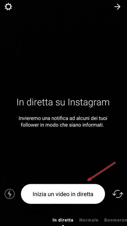 come fare dirette su instagram