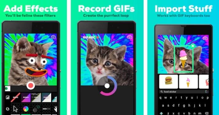 creare gif con GIPHY CAM