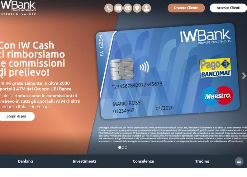 conto iwbank