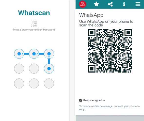 Whatscan per Whatsweb