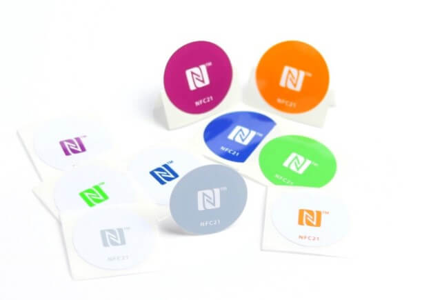 NFC Tag Sticker adesivi