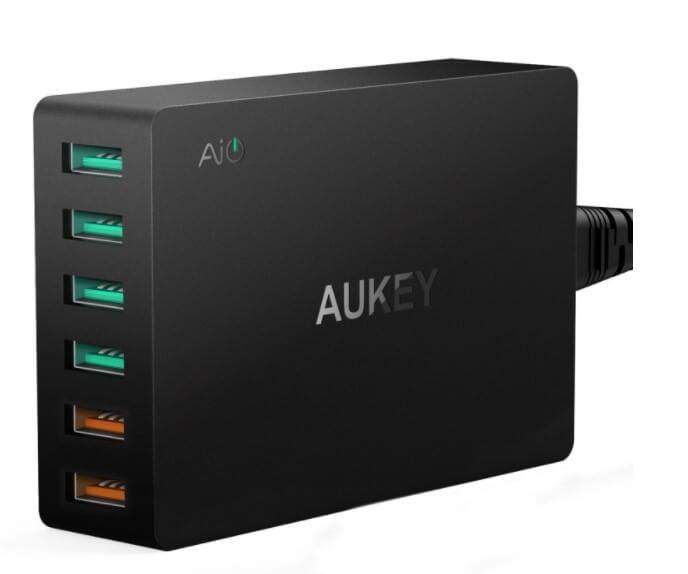 AUKEY Caricabatterie USB da Muro
