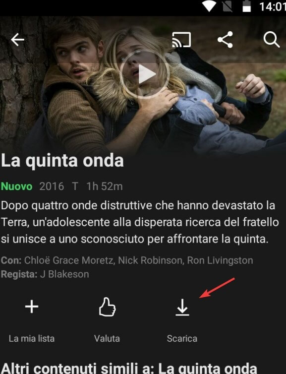 Scarica film Netflix