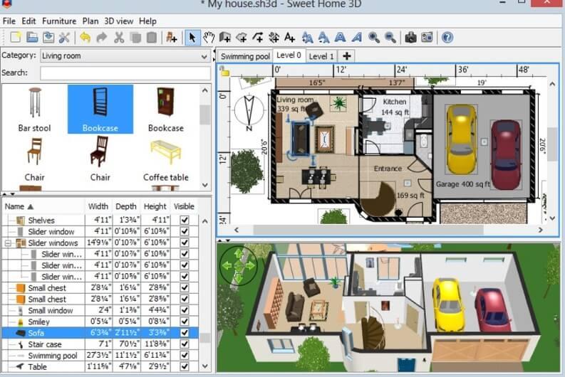 Programmi per arredare casa giardiniblog for Simulatore arredamento