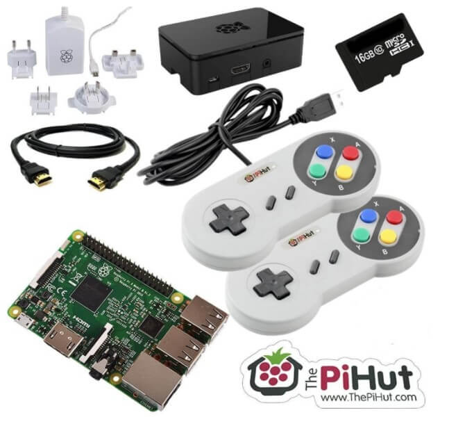Console per retrogaming The Pi Hut