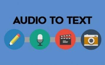 Come convertire audio in testo scritto