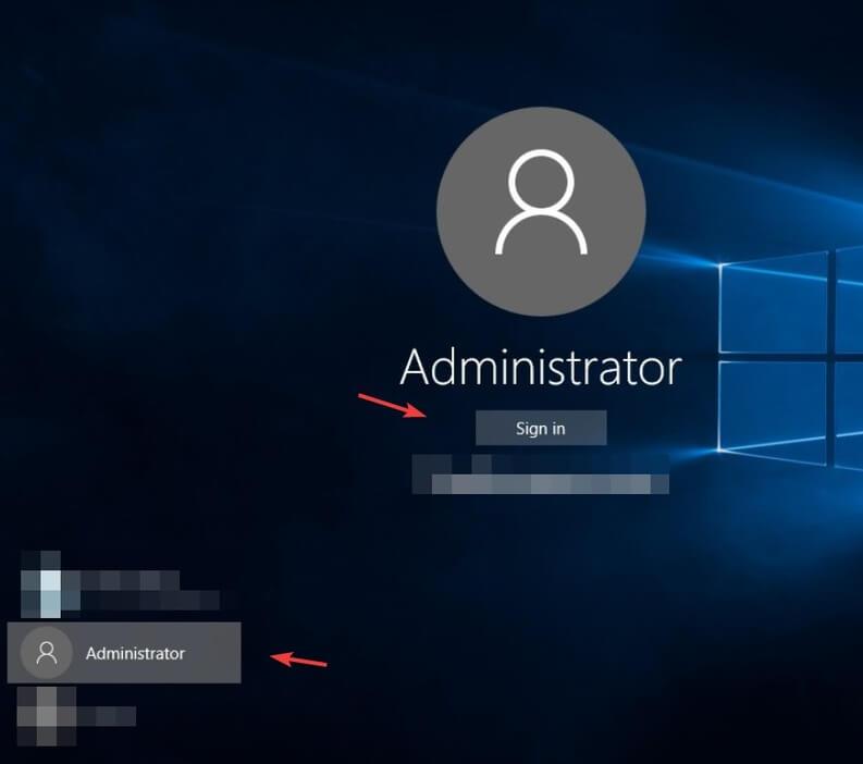 Accesso Account Administrator