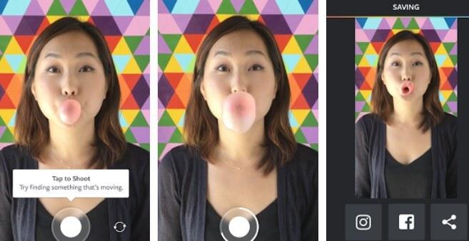Boomerang app per le gif dai creatori di instagram