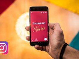 fare una storia su Instagram