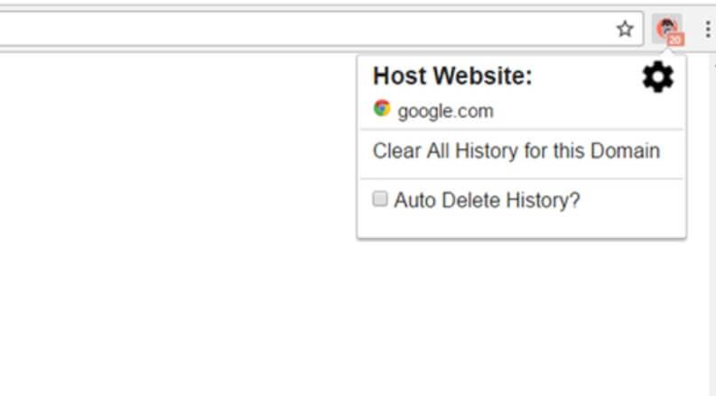 History AutoDelete cancella cronologia in un click