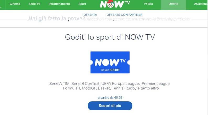 NOWTV Sport