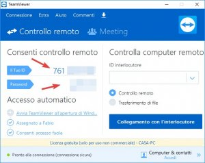 TeamViewer password