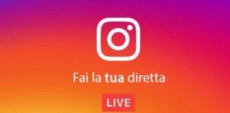 come fare dirette instagram