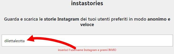 scaricare storie da instagram