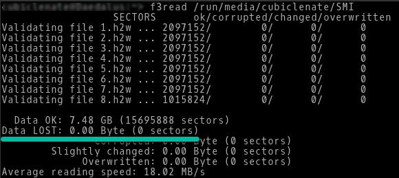 f3 linux e microsd originale